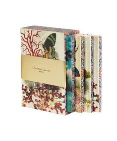 Les Modes Parisiennes Notebook Box Set, Christian Lacroix Papier