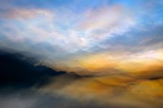 Slocan Lake Sunset Composite - Once again, thinking of Turner Shared by ursula on Abstract on July 2015 at at Fine Art Photography, Nature Photography, Amazing Photography, Beach Landscape, Ursula, Large Art, Poster Prints, Art Print, Posters