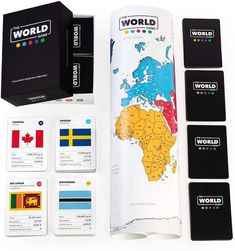 Fun educational board games for homeschool: The World offers terrific lessons in geography, socioeconomics and more
