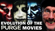 The Evolution of The Purge Movies - Nostalgia Critic Nutcracker Movie, Channel Awesome, Ninja Turtles 1, Nostalgia Critic, The Good Son, Stephen King Movies, Hedgehog Movie, League Of Extraordinary Gentlemen, The Sorcerer's Apprentice
