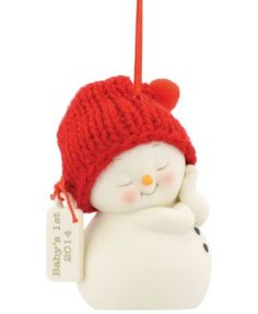 Department 56 Snowpinions Baby's First Ornament 2014   macys.com