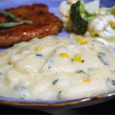 Creamy Polenta with Roasted Corn and Fresh Sage - Allrecipes.com