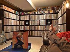 favd_vinyl-vice-October 31 2017 at – Werner Meth – Audioroom Home Music Rooms, Music Studio Room, Record Shelf, Vinyl Record Storage, Vinyl Record Collection, Cd Storage, Vinyl Room, Audio Room, Interiores Design