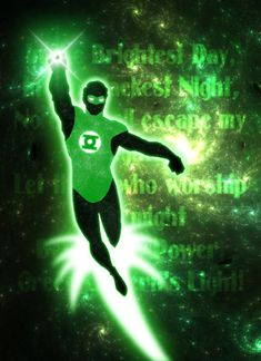 """""""In brightest day, in blackest night, No evil shall escape my sight. Let those who worship evil's might Beware my power--Green Lantern's light! Green Lantern Hal Jordan, Blue Lantern, Green Lantern Corps, White Lanterns, Lantern Rings, Western Comics, Book Images, Marvel Art, Dark Horse"""