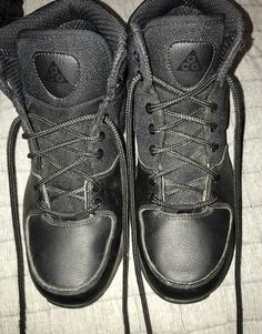 c30f178b02e9 Boys  Shoes · Youth Nike ACG Size 6.5 black (excellent used condition)   fashion  clothing