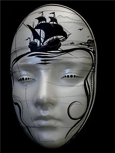 Мир масок ''Лола'' Carnival Fashion, Dark Circus, Venice Mask, Mannequin Art, Paper Mache Sculpture, Mask Tattoo, Cool Masks, Chicano Art, Cow Skull
