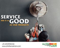 Service is important to ensure longevity and maintanence of any product. ACT Ultra Floor Solutions provides the best in service.