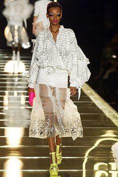 Christian Dior Spring 2003 Ready-to-Wear Fashion Show - John Galliano, Liya Kebede