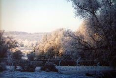 Snow covered hillsides at OldCastle Estate, OldCastle Events by OldCastle Weddings, via Flickr