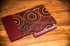 An Aboriginal design case for mobile phones or glasses.