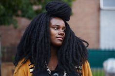 Pin for Later: The Afropunk Festival Brought Out the Best in Black Beauty Afropunk Street Style 2015 Beauty Uk, Black Beauty, Afro Punk, Natural Hair Inspiration, Best Black, Curly Girl, Love Hair, Black Women Hairstyles, Natural Hair Styles