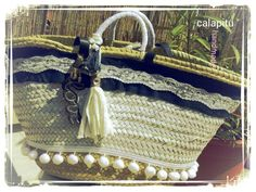 TEXAS Cabàs #calapitu #handmade #texà #liberty #sol #fetamà #spring #summer @Cristina