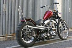 Harley Davidson Shovelhead 1979 By Spice Motorcycles Hell Kustom Custom Cycles, Custom Bikes, Bmw 520, Old School Chopper, Bike Builder, Moto Style, Moto Guzzi, Kustom, Harley Davidson