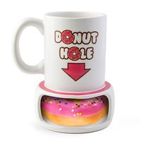 THE MAGNIFICENT DONUT HOLE MUG