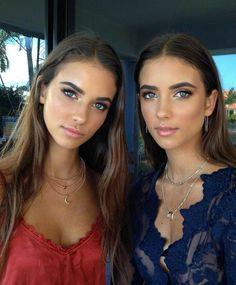 Renee x Elisha Herbert Beauty Makeup, Hair Makeup, Hair Beauty, Pretty People, Beautiful People, Make Up Inspiration, Natural Makeup, Natural Smokey Eye, Beautiful Eyes