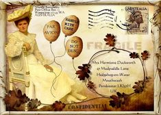 The Three Muses Challenge - Mail Art