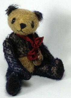Lok   OOAK Artist Bear / Panda by HopkoshandCo on Etsy