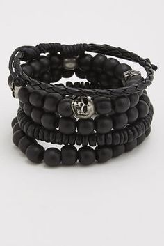 Jewelry for Men - Beaded Bracelets, Necklaces, Rings, and More