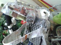 Halloween DIY T-rex head