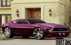 Slick 2014 Mustang Concept