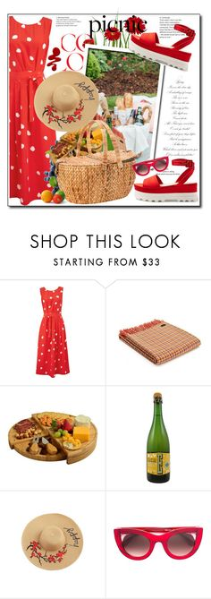 """""""Picnic in the Park..."""" by cindy88 ❤ liked on Polyvore featuring L.K.Bennett, Picnic at Ascot, John Lewis, Thierry Lasry and picnic"""