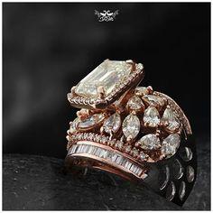 Choosing Diamond and Gemstone Rings Bijoux En Or Simple, Bling Bling, Wedding Jewelry, Wedding Rings, Gold Ring Designs, Solitaire Ring Designs, Gold Jewelry Simple, Jewelry Patterns, Ring Earrings