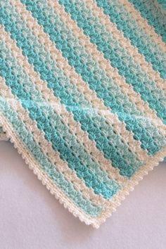 Crochet Baby Blanket Pattern Crochet Afghan Pattern Crochet | Etsy Baby Afghan Crochet Patterns, Free Baby Blanket Patterns, Crochet Slipper Pattern, Crochet For Beginners Blanket, Crotchet Patterns, Baby Blanket Crochet, Crochet Baby, Crochet Blankets, Crochet Afghans