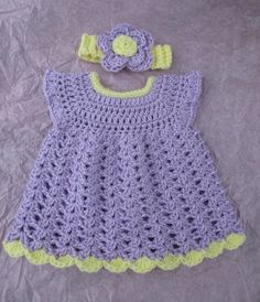 Lacey Lovey Dress and Matching Headband. The Blissful Baby Boutique