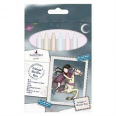 Docrafts Metallic Pens - Bullet Tip - Santoro 6 Pack, Crafts To Do, E Bay, Bullet, Packing, Pens, Crafty, Metallic, Antiques