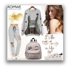 """#6/2 Romwe"" by almira-mustafic ❤ liked on Polyvore"