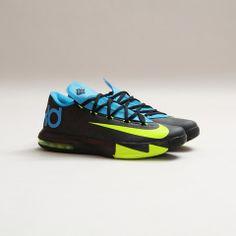 Nike KD VI (Black/Volt-Vivid Blue)