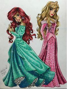 Ariel and Aurora by Maxx Stephen