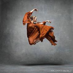 Charlotte Landreau, Martha Graham Dance Company -  NYC Dance Project (Deborah Ory and Ken Browar)