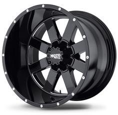 Black 22x14 Moto Metals