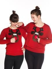 Christmas Jumpers for Women: Women's Christmas Knitwear Ladies, you can look good as well as cute in our extensive range of women's Xmas jumpers. Reindeer Christmas Jumper, Novelty Christmas Jumpers, Womens Christmas Jumper, Xmas Jumpers, Rudolph Christmas, Jingle All The Way, Jumpers For Women, Snug, Knitwear