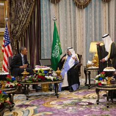 On President Barack Obama's recent trip to Saudi Arabia, the king and the two highest-ranking representatives of the oil dynasty explained in strict terms that the United States is making a mockery out of their monarchy and that Obama damn well better gear up for imminent military intervention in the Mideast.
