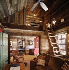 Rustic cabin interior design ideas modern cabin decor gorgeous rustic cabin interior ideas home Small Cabin Designs, Small Log Cabin, Tiny House Cabin, Log Cabin Homes, Tiny House Design, Tiny Houses, Log Cabins, Rustic Cabins, Small Cabin Interiors