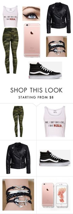 """Untitled #16"" by bruhash ❤ liked on Polyvore featuring Sisters Point and Vans"