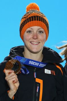 SPEED SKATING LADIES' 1500m: Gold medalist Jorien Ter Mors of The Netherlands