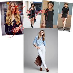 hey this is your life do,what you want ! This Is Your Life, Do What You Want, Capri Pants, Fashion, Moda, Capri Trousers, Fashion Styles, Fashion Illustrations