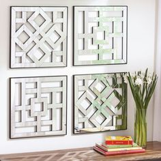 Mirrored wall hangings