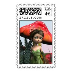 #Fairy in #Woodland #Stamps