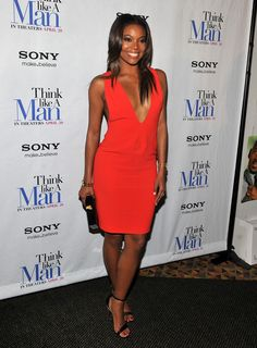 Gabriel Union can do no wrong at the Think Like a Man Premier.