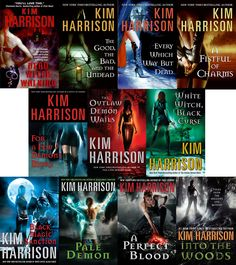 The Hollows Series by Kim Harrison (need to check this out... new series to read???)