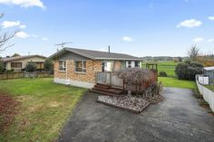 This multi level home inherits an open plan kitchen, dining and living area opening out onto a large sun token deck, creating a more spacious feel. In the lounge is a heat pump perfect for heating the house up quickly during those cooler months. There are three bedrooms and two bathrooms. #riserealestate #realestatenz #realestatenewzealand #waikatoregion #waikato #houseforsalnz #forsalenz
