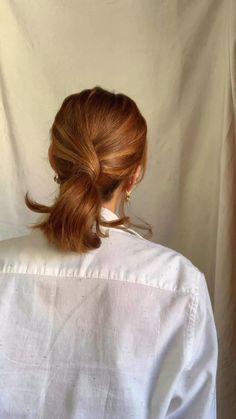 Hair Up Styles, Medium Hair Styles, Hair Affair, Aesthetic Hair, Hair Videos, Hair Looks, New Hair, Hair Inspiration, Hair Makeup