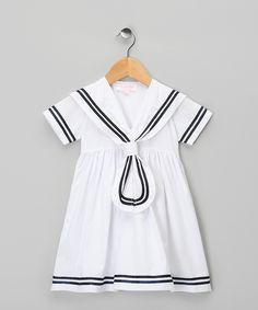 White Emma #Dress by Powell Craft on #zulily