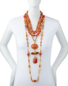 Jose & Maria Barrera set of necklaces