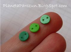 Maak je eigen knopen; make your own buttons!