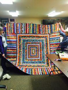 Shirlee's quilt for Kathy. Shirlee's quilt for Kathy. - Shirlee's quilt for Kathy. Shirlee's quilt for Kathy. Shirlee's quilt for Kathy. Scrappy Quilt Patterns, Batik Quilts, Jellyroll Quilts, Patchwork Quilting, Scrappy Quilts, Easy Quilts, Crazy Quilting, Quilting Projects, Quilting Designs